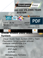 2 Metodologias Con Visual Studio Team System