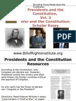 PC 2 Commander-Scholar Essay-Student Program