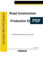 Productivity Report Cat Road Construction 2006