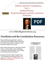PC 2 Federal Power-Jefferson Louisiana Purchase-Student Program