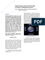 Modeling and Performance Study of Inter Satellite