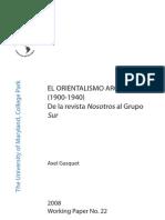 Gasquet - El Orientalismo Argentino (1900-1940)