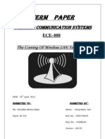 Term Paper Wireless LAN