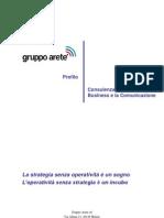 Brochure Gruppo Arete' 17 Gennaio 2012