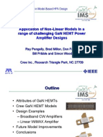 Application of Non-Linear Models in a Range of Challenging GaN HEMT Power Amplifier Designs