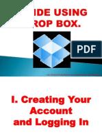Celito_Bilo_Guide Using Drop Box