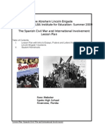SCW and International Involvement Lesson Plan