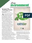 The Corps Environment, April  2012, Team Plans for net-zero engery goal pg. 6
