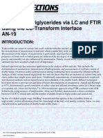 Analysis of Triglycerides