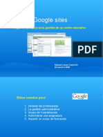 Ejemplos de Google Sites
