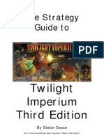 Strategy Guide to Twilight Imperium Third Edition