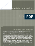 Interfete Om Masina 1 Introduce Re