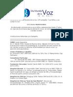 Centros Asistenciales D.M.V. 2012