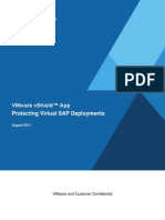VMware vShield App Protecting Virtual SAP Deployments