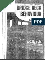 Bridge Deck Behaviour- EC Hambly
