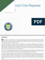Financial Crisis Response Report - April 2012