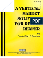 a vertical market solution for retail reader