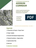 Addison Corridor Presentation