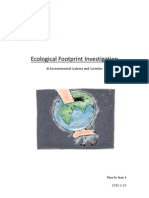 Ecological Footprint Investigation