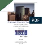 Cities and Economic Prosperity
