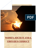 What it means to be  Modest (Women Society and a Virtuous Conduct)