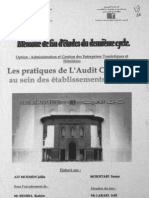 Les pratiques de l_Audit Commercial au sein des établissements bancaires