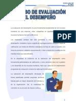 PROCESO DE EVALUACION DEL DESEMPEÑO