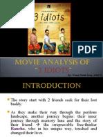 Wong Chiok Ling - 3 Idiot Movie Analysis