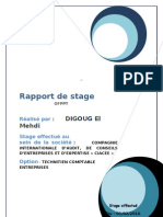 Rapport de Stage Mehdi Digoug