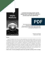 gestão e produção - interfuncionalidade