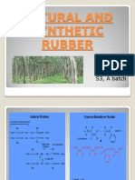 Natural and Synthetic Rubber