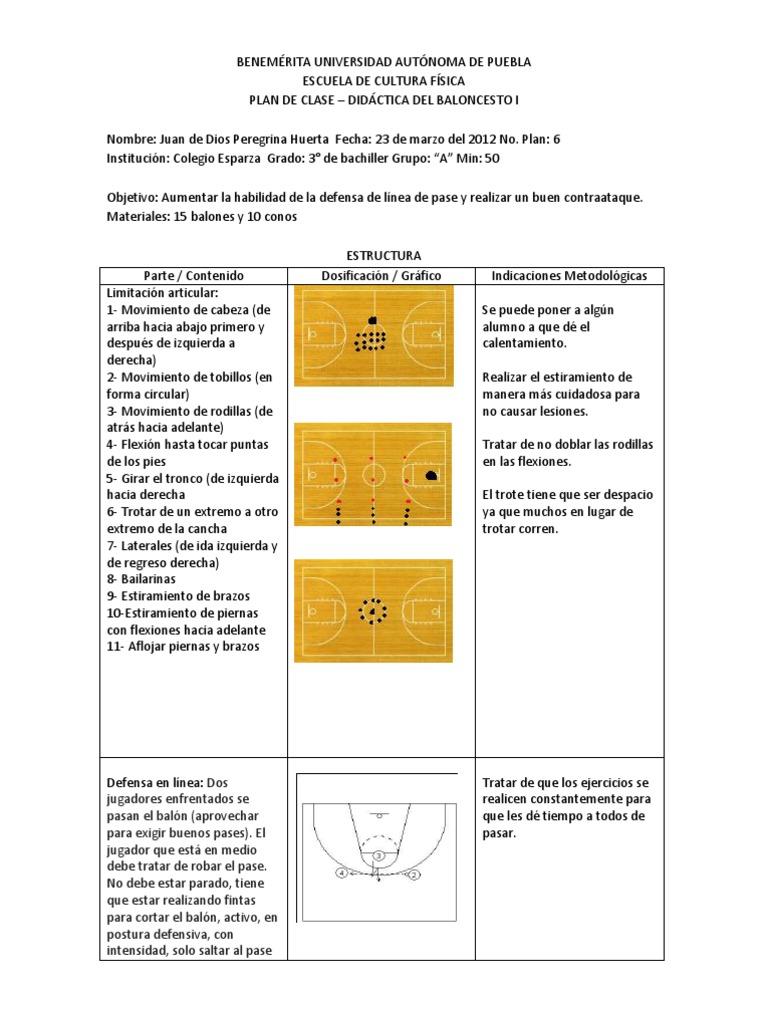 Encantador Plantilla De Planes De Lección Preescolar Modelo ...