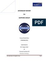Internship Report Feroze