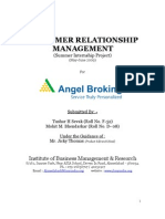 28187307 Customer Relationship Management Project Report
