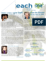 Outreach Newsletter Spring 2012