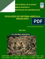 Evolução da Agricultura Brasileira