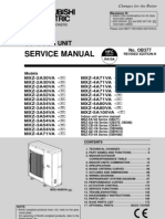 Service Manual MXZ_2 5A30 100VA