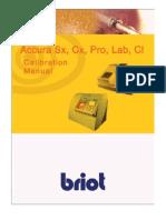 Briot Accura Calibration Manual