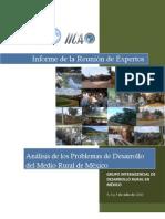 Análisis de los Problemas de Desarrollo del medio rural  de México