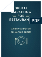 Guide to Digital Marketing for Restaurants