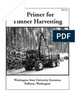 A Primer of Timber Harvesting