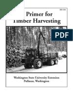 A Primer of Timber Harvesting