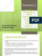 Presentation Sainsbury's