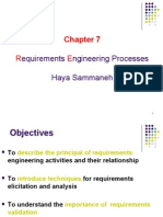 Ch 7 Requirements Engineering Processes