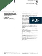 !!!Bosch MFI Repair Instructions VDT-WJP 711-1B Suppl2,VDT-WPP 711-1B Suppl2,Letzte Seite Deutsch,NurPumpe