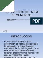 3.3.3 Metodo Del Area de Momentos