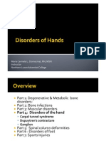 Musculoskeletal Disorders Part 4 Disorders of the Hands