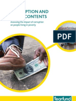 Corruption and Its Discontents - A Tearfund Report