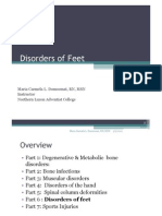 Musculoskeletal Disorders Part 6 Disorders of the Feet
