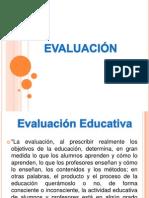 Diapositivas de Evaluacion Educativa y de Los Aprendizajes
